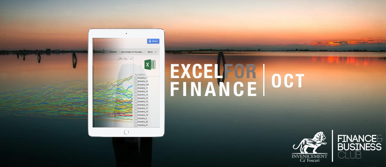 Workshop: Excel for Finance